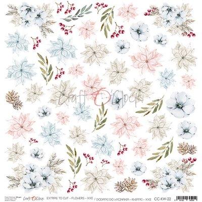 Flowers - XXII element sheet