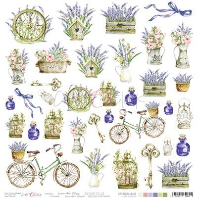 Lavender Bliss - element sheet