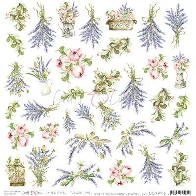 Flowers - XVI element sheet