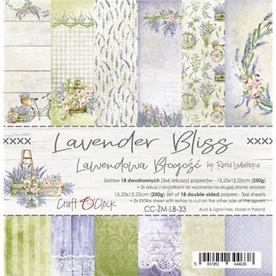 "Lavender Bliss - paper pad 6""x6"""