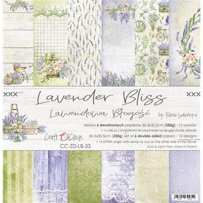 """Lavender Bliss - paper set 12""""x12"""""""