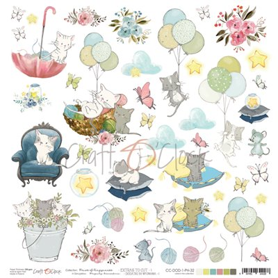 Paws of Happiness - element sheet des.1