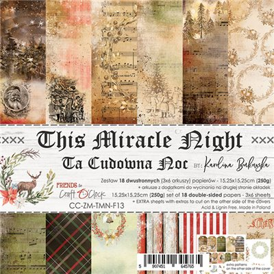 """This Miracle Night - paper pad 6""""x6"""""""