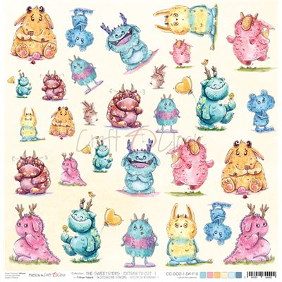The Sweetsters - element sheet des.1
