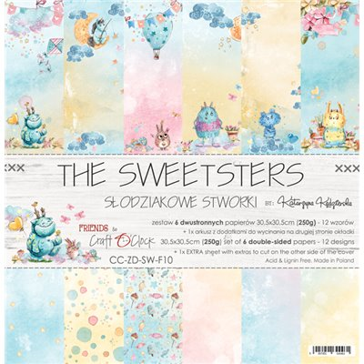 """The Sweetsters - paper set 12""""x12"""""""