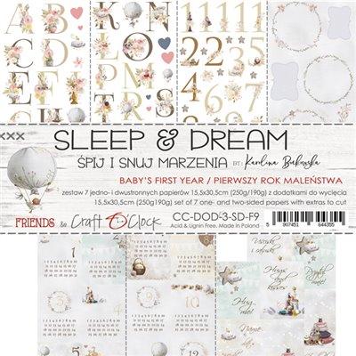 Sleep & Dream - set of element sheets