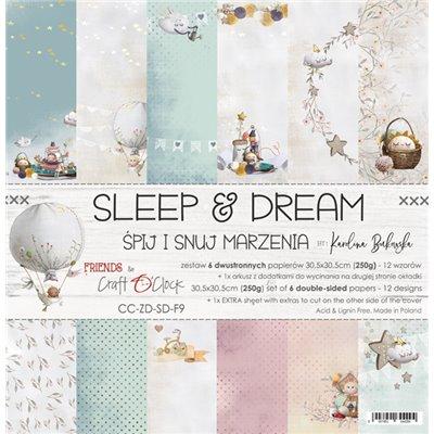 "Sleep & Dream - paper set 12""x12"""