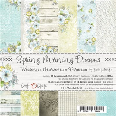 "Spring Morning Dreams - paper pad 6""x6"""