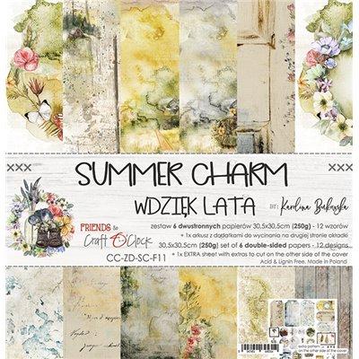 "Summer Charm - paper set 12""x12"""