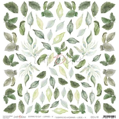 Leaves - X - element sheet
