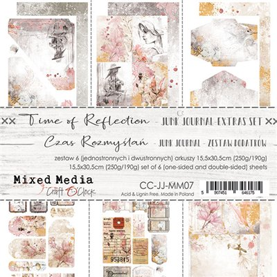 Time of Reflection - Junk Journal element sheet set