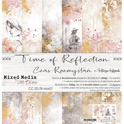 Time of Reflection - paper set 30,5x30,5cm