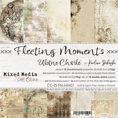 Fleeting Moments - paper set 20,3x20,3cm