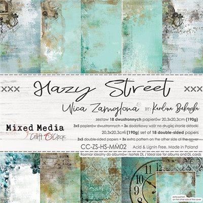 Hazy Street - paper set 20,3x20,3cm