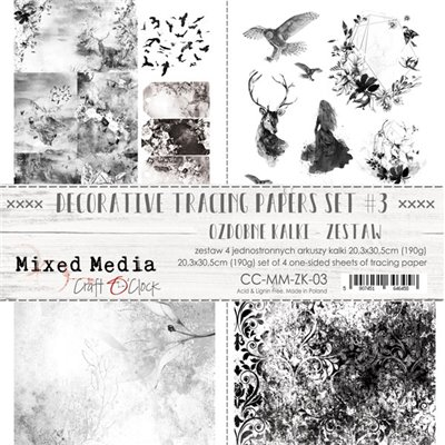 MM tracing paper set des.3