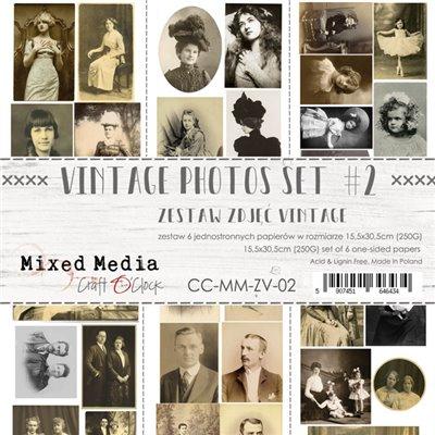 Vintage Photos Set des.2 - element sheet
