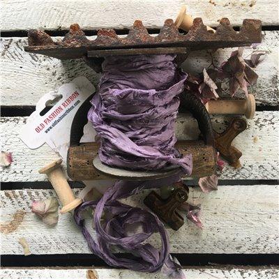 Old Fashion satin ribbon - violet/ibolya