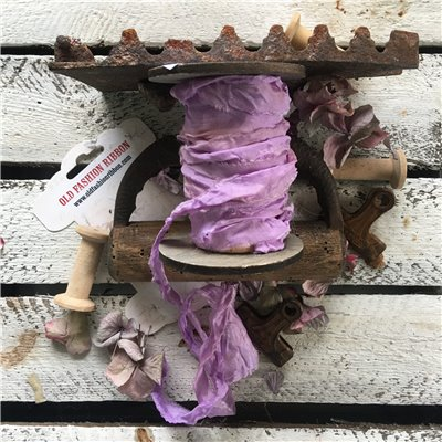 Old Fashion satin ribbon - lavender/levendula