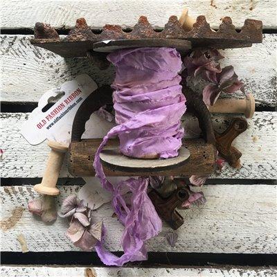 Old Fashion satin ribbon - lavender/levendula
