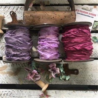Satin ribbon collection des.4 (3 pcs)