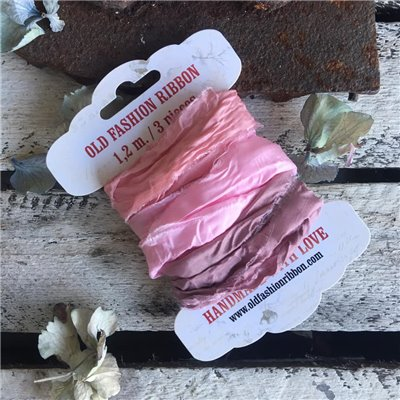 Satin ribbon collection des.21 (3 pcs)