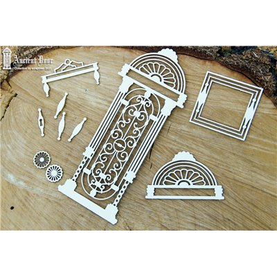 Ancient Door openwork 02