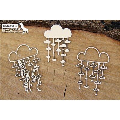 Believe in Unicorns - garland clouds