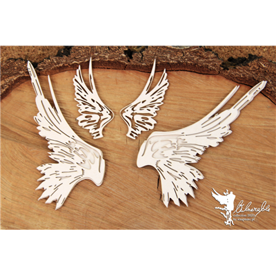 Vulnerable - BIG set of wings