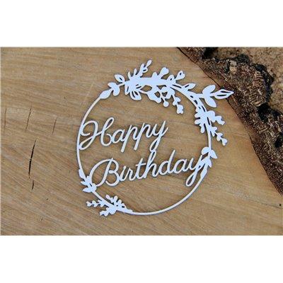 Hi Summer Frame 02 Wishes - Happy Birthday
