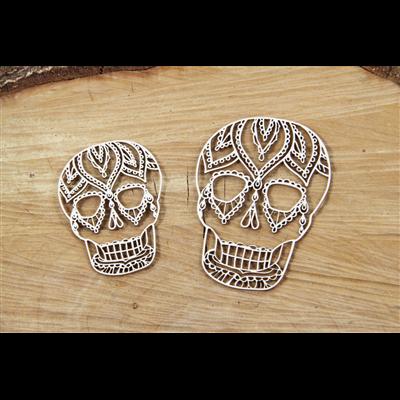 Mehendi - skulls