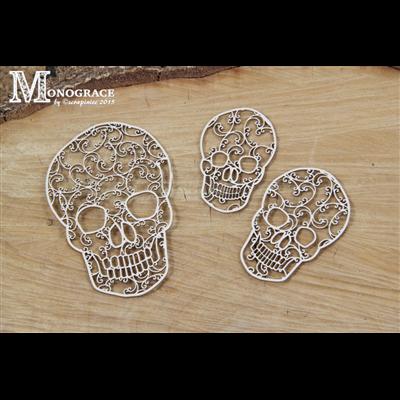 Monograce - skulls