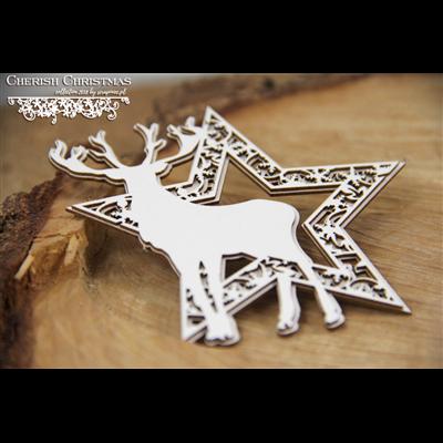 Cherish Christmas - 2 layers star