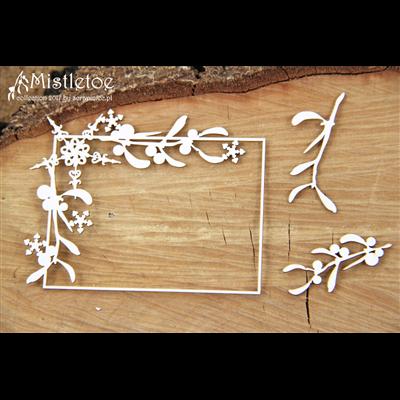 Mistletoe - rectangle frame