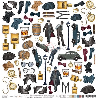 Age Of Gentleman - elements sheet