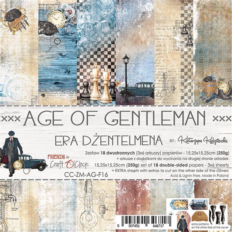 Age Of Gentleman - paper set 15,25 x 15,25 cm