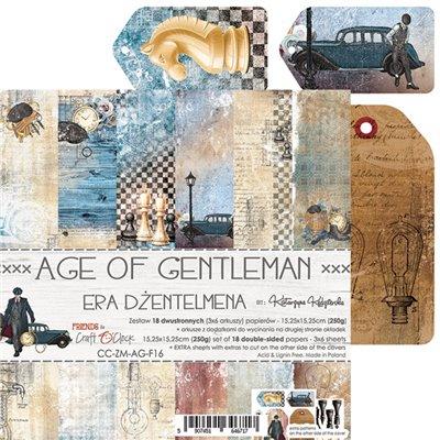 Age Of Gentleman - papírkészlet 15,25 x 15,25 cm