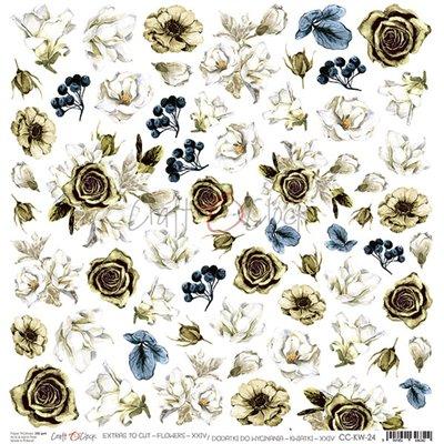Flowers - XXIV elements sheet