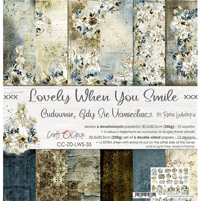 Lovely When You Smile - paper set 30,5x30,5cm