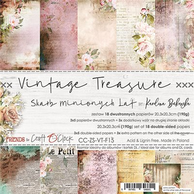 Vintage Treasure - paper set 20,3 x 20,3 cm
