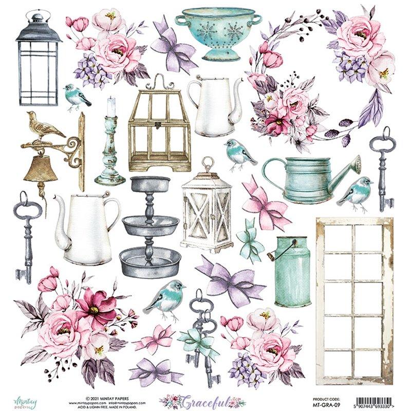 12 x 12 Elements Paper - Graceful
