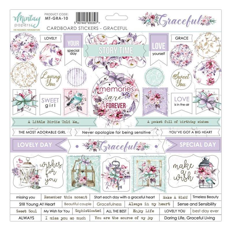 12 X 12 Cardstock Stickers - Graceful