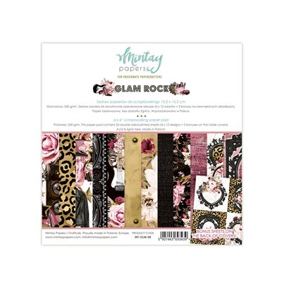 6 x 6  Paper Pad - Glam Rock