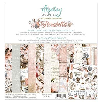 12 x 12 Paper Set - Florabella