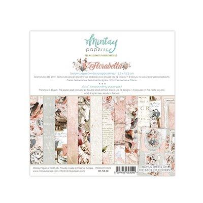 6 x 6  Paper Pad - Florabella