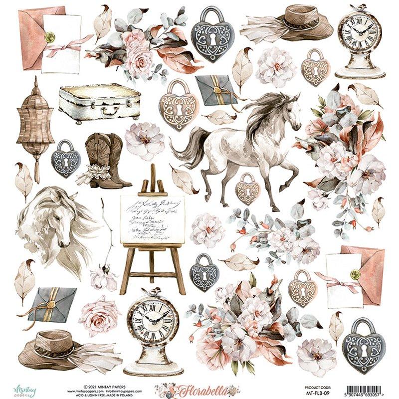 12 x 12 Elements Paper - Florabella