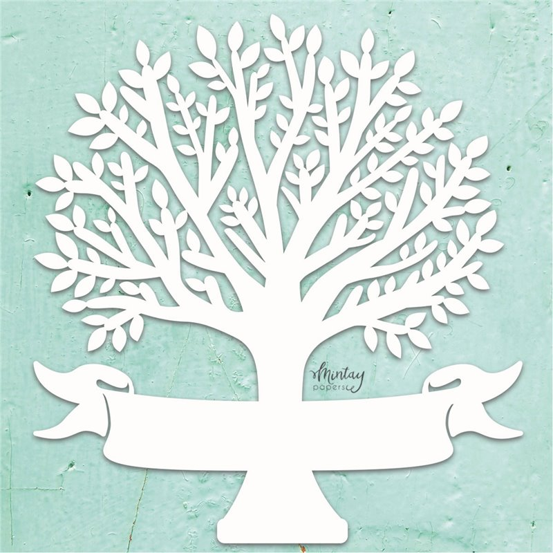 Mintay Chippies - Decor -Family Tree