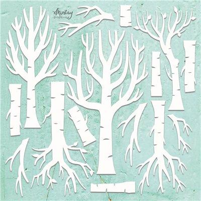 Mintay Chippies - Decor -Trees - 14 pcs