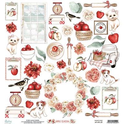 12 x 12 Elements Paper - Apple Season